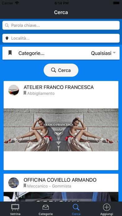 Screenshot of Vedo Convenienza4