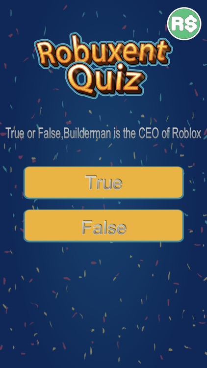 Robuxent Quiz For Robux