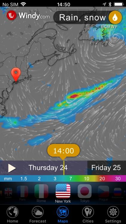 3D Earth - weather widget screenshot-7
