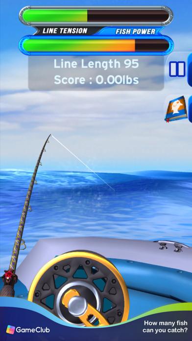 Flick Fishing: Catch Big Fish screenshot 4