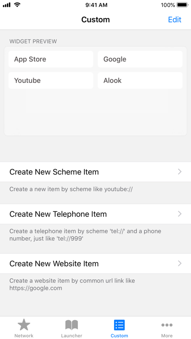 AWidget - Alook Widgets Screenshots