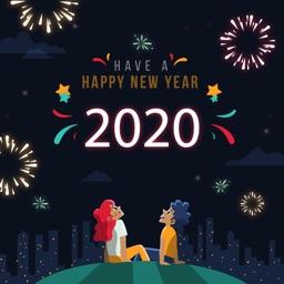 2020 Happy New Year Frames