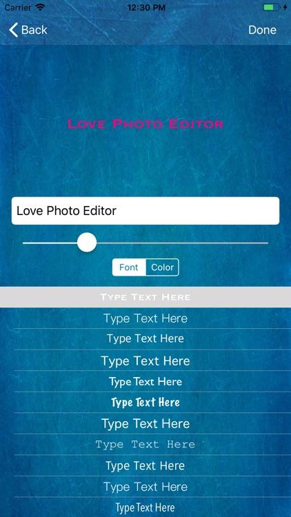 Love Photo Editor. screenshot-4