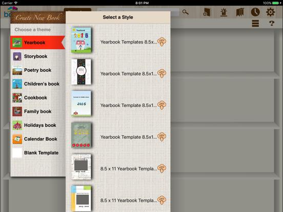 bookPress - Best Book Creator screenshot two