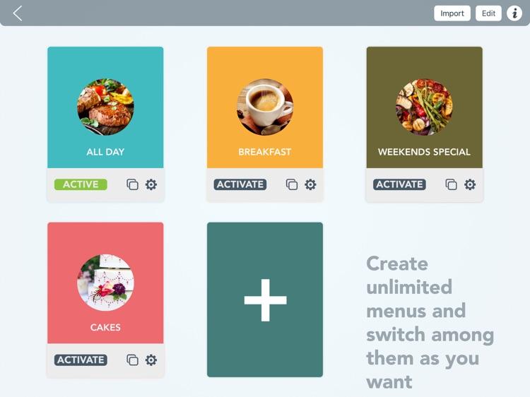 Menu Maker - Restaurants eMenu screenshot-3