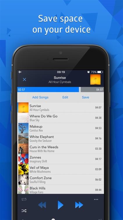 CloudBeats: offline music by Roman Burda