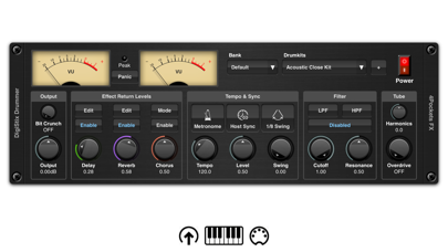 DigiStix Drummer AUv3 Plugin