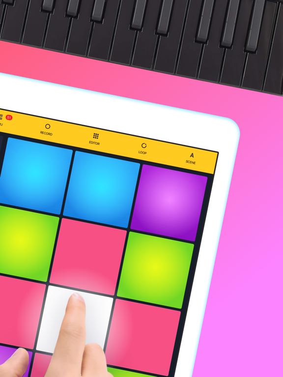 Drum Pads 24 - Beats Maker-ipad-1