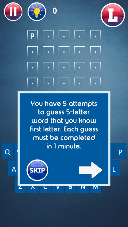 Guess the 5-6-7 Letter Word screenshot-6