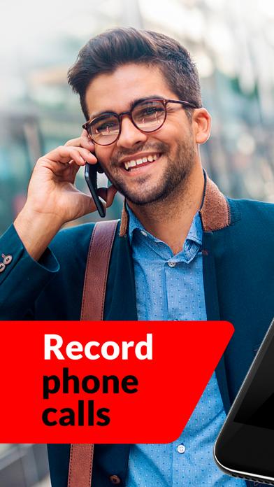 Call Recorder App. Screenshot