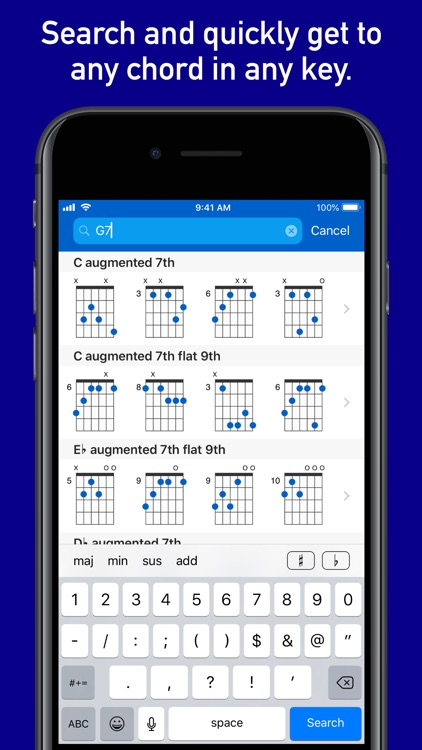 GtrLib Chords Pro screenshot-3