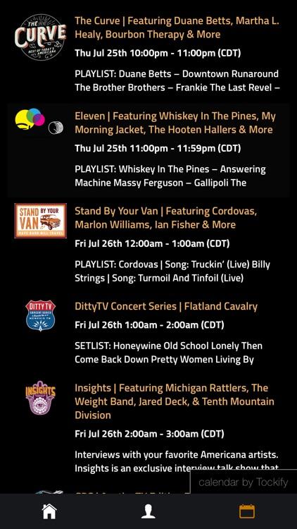 DittyTV - Americana Music TV screenshot-5