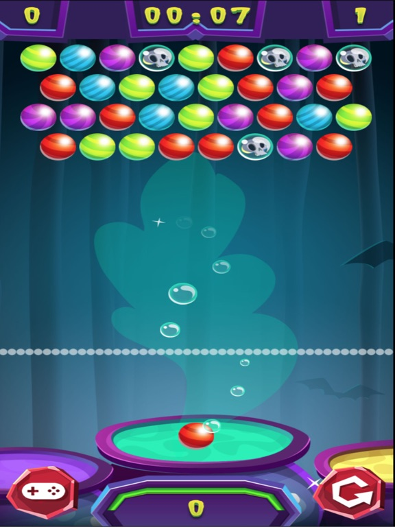 Halloween Scary Bubble Shooter screenshot 5
