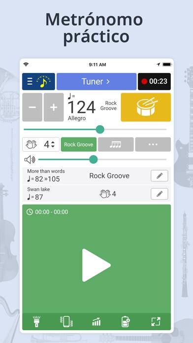 Screenshot for Afinador & Metrónomo in Chile App Store