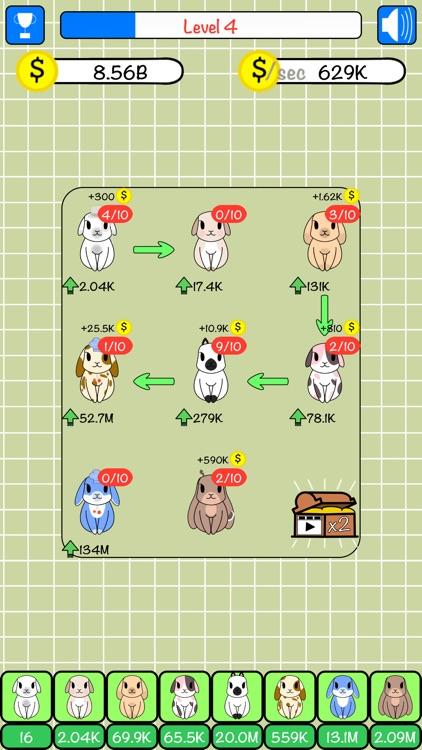 Combo Hares: Upgrade & Combine screenshot-6
