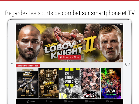 Screenshot #4 pour FITE - Boxing, Wrestling, MMA