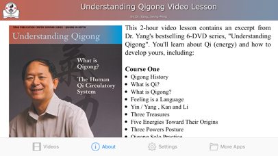 Understanding Qigong Video | App Price Drops