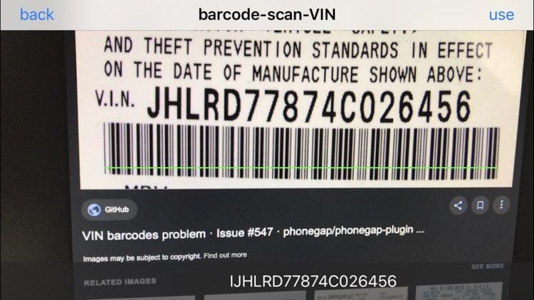VIN ocr screenshot-4