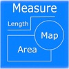 Map Measure - Draw Area & Line - iPhoneアプリ