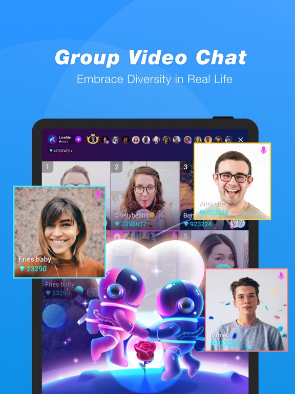 LiveMe – Live Video Chat-ipad-4