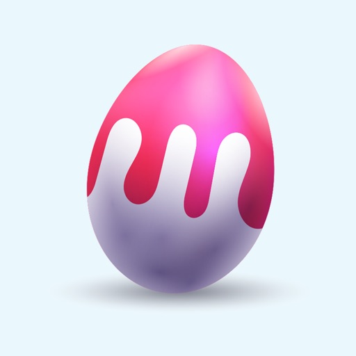 Happy Easter Egg Stickers