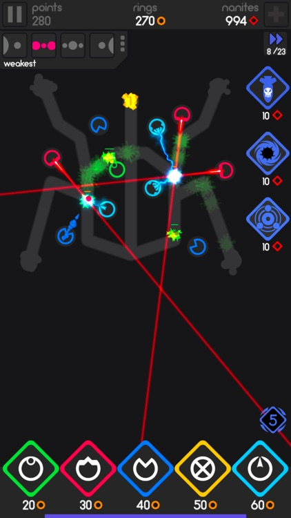 Color Defense - A TD Puzzler screenshot-0