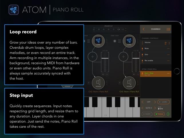 Atom | Piano Roll