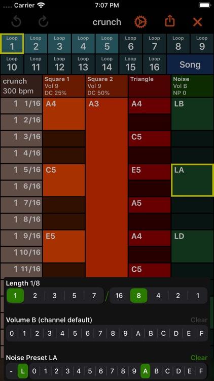 October - Chiptune Maker screenshot-4