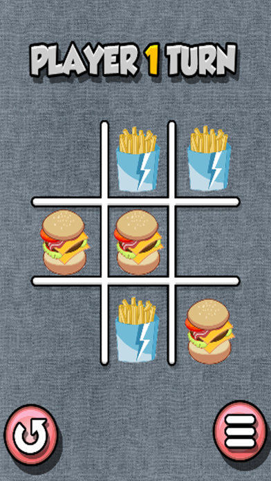 Burger Tic-Tac-Toe (2-Player) screenshot 2