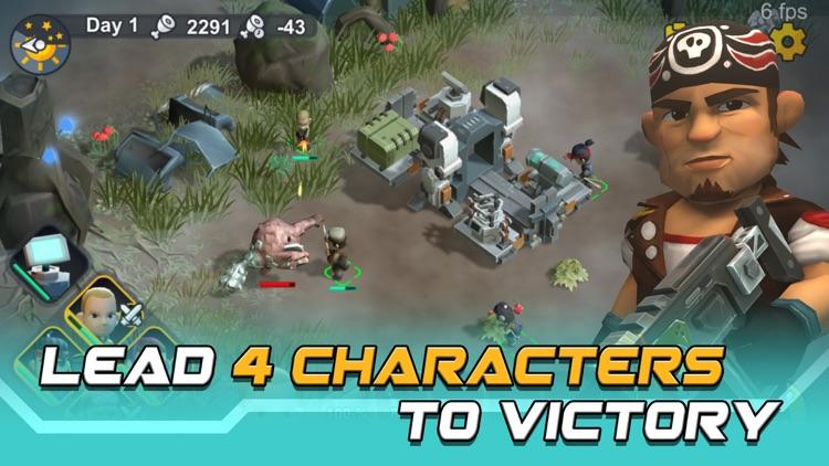 Strange World: RTS + Survival screenshot-4