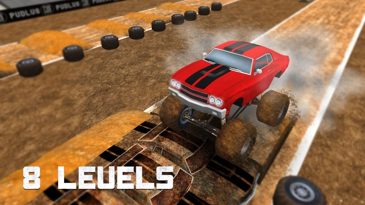 Monster Truck Fever Driving screenshot-4
