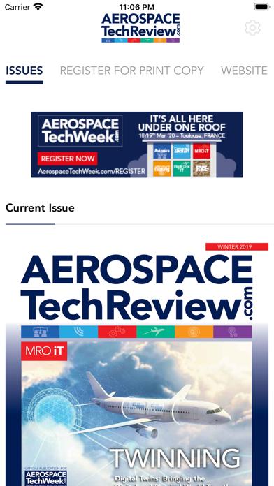 Aerospace Tech ReviewScreenshot of 1