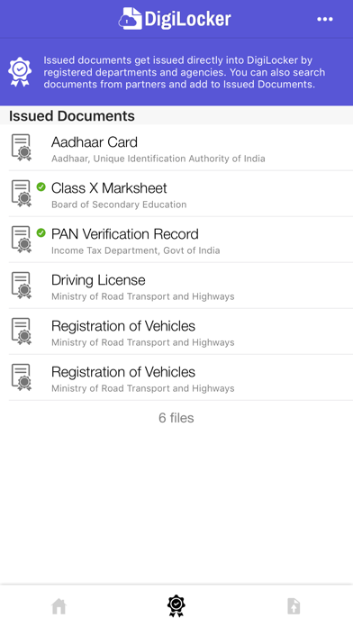 Screenshot for DigiLocker in India App Store
