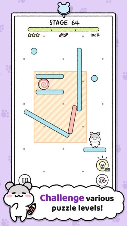 Hamster Town - Drawing Puzzle screenshot-5