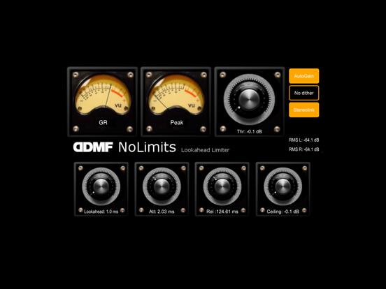 NoLimits AU Limiter by DDMF screenshot 2