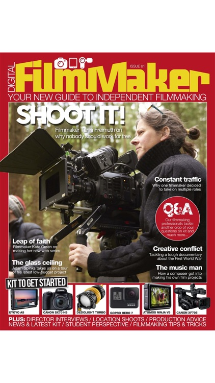 Digital FilmMaker Magazine screenshot-8