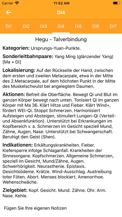 Screenshot for Akupunktur Assistent in Germany App Store