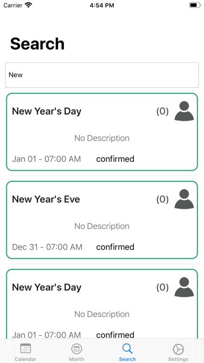 WatchCal for Google Calendar screenshot-5