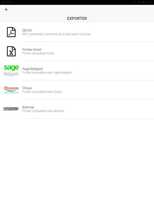 Applidevis Pros Du Batiment Dans L App Store