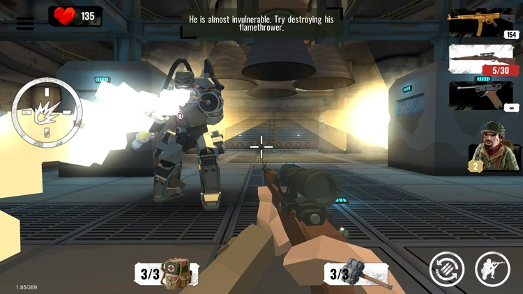 World War Polygon- WW2 shooter screenshot-3