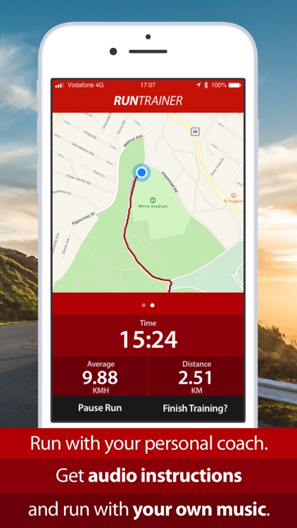 Run Trainer - Running app