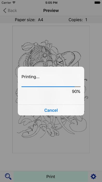 TOEC Printer screenshot-3