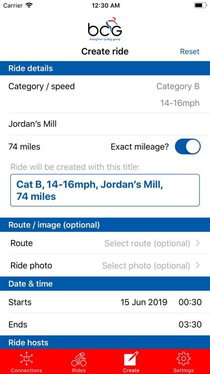 Broughton Cycling Group screenshot-5