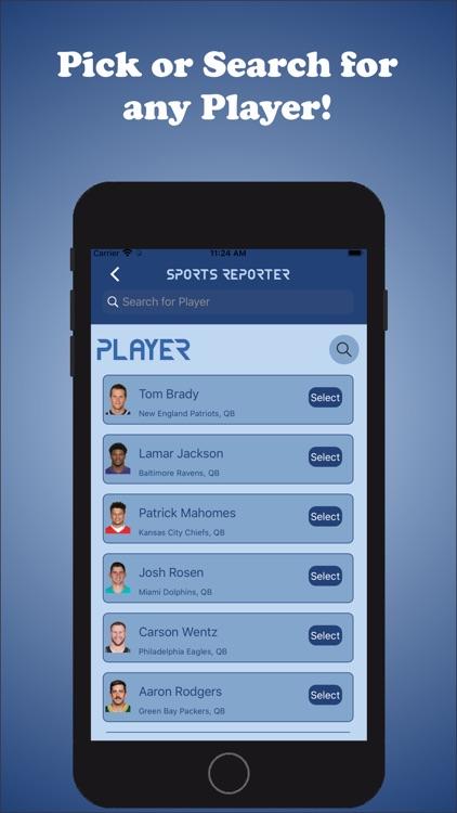 Sports Reporter screenshot-5