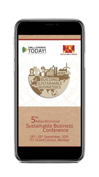 ABG Sustainable Conference App screenshot one