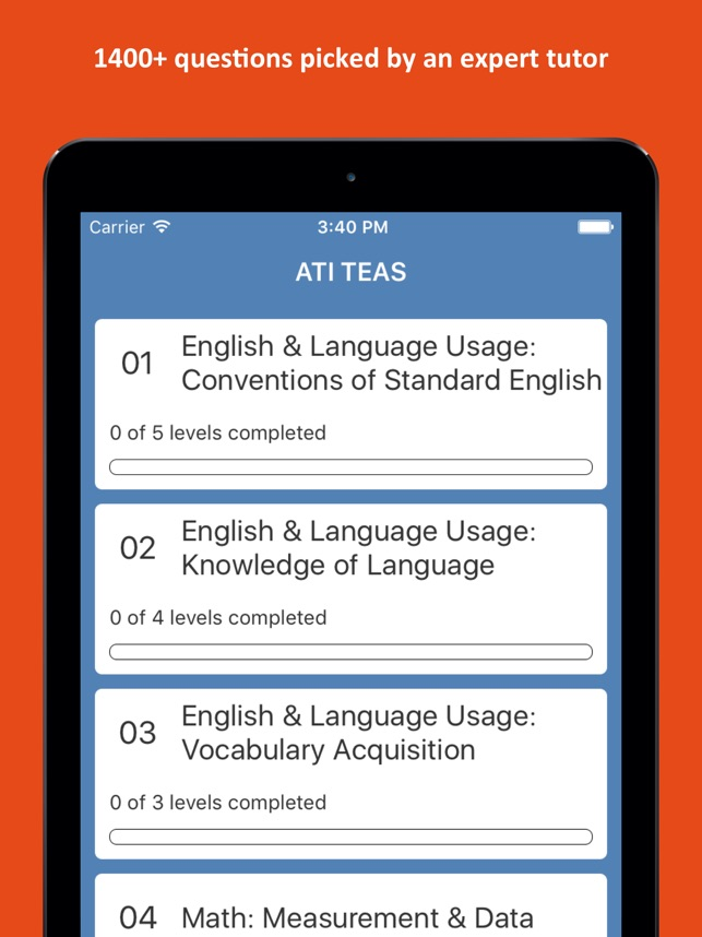 ATI® TEAS 6 Practice Test on the App Store
