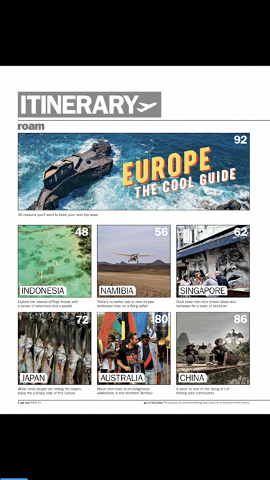get lost Travel Mag screenshot two