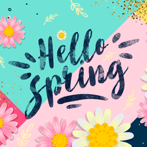Hello Spring! Easter Stickers - Stickers app
