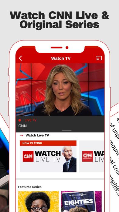 CNN: Breaking US & World News Screenshot on iOS