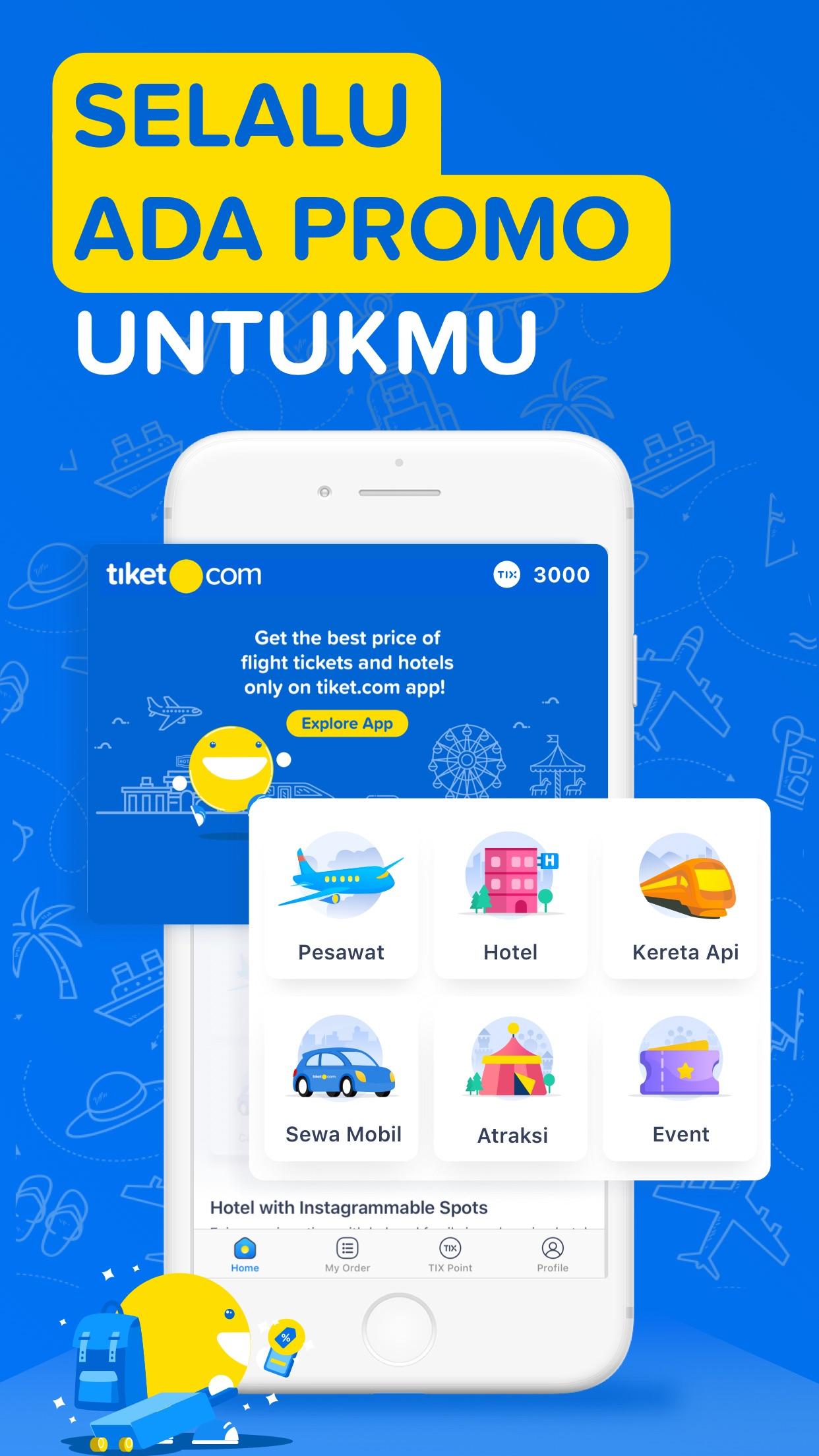 tiket.com - Pesan Tiket Online Screenshot